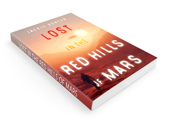 Lost in the Red Hills of Mars book cover